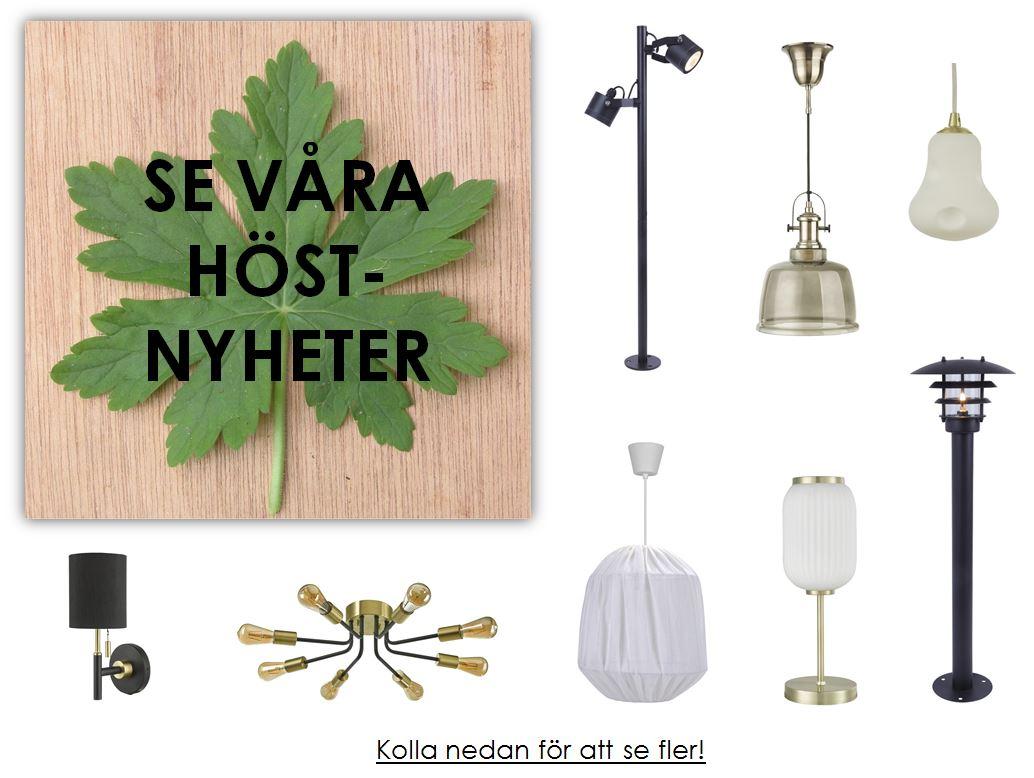 Icke gamla Köp lampor och belysning-stort utbud-snabb leverans-Oriva.se US-91